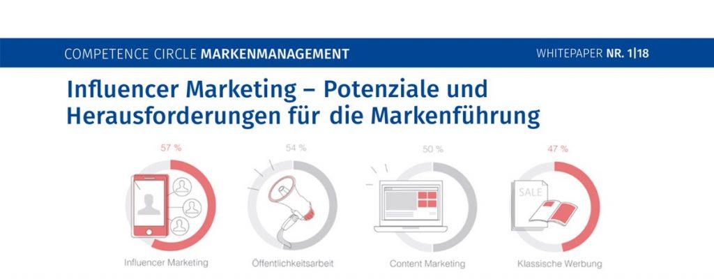 Whitepaper Influencer Marketing - Markenmanagement