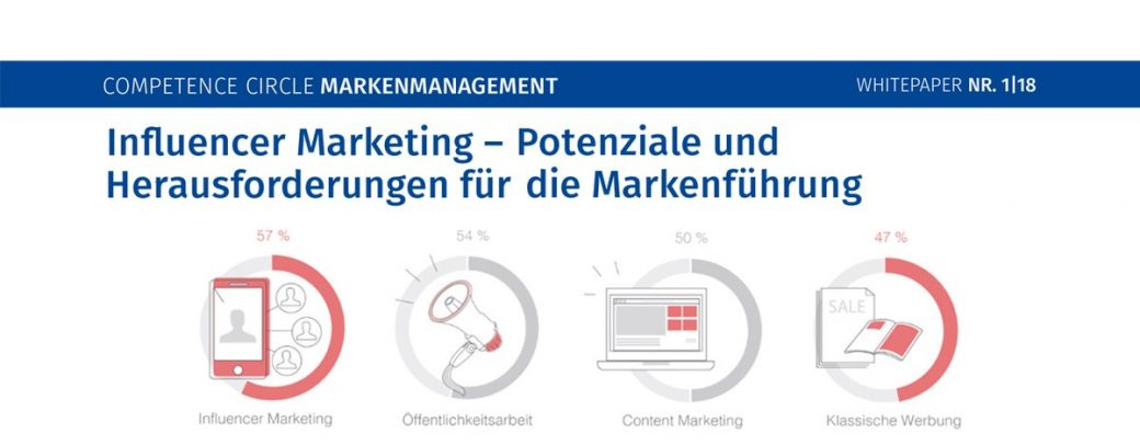 Whitepaper Influencer Marketing - Markenmanagement