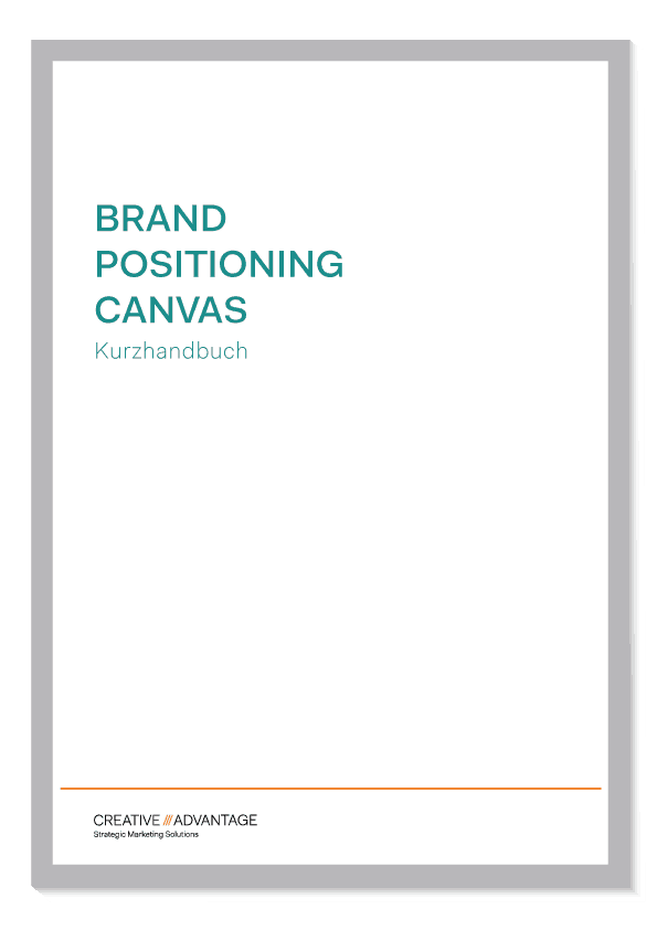 Brand Positioning Canvas Kurzhandbuch