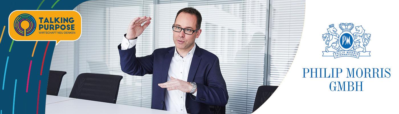 Talking Purpose Podcast | Transformation mit Corporate Purpose | Markus Essing, Philip Morris