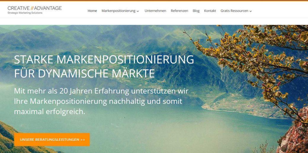 Homepage Creative Advantage
