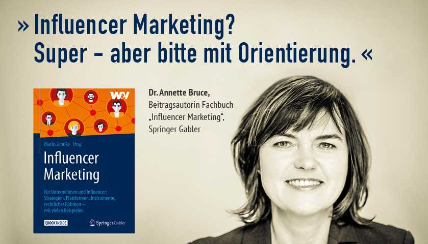 Influencer Marketing Annette Bruce